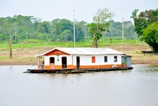 Houseboat On Rio Negro