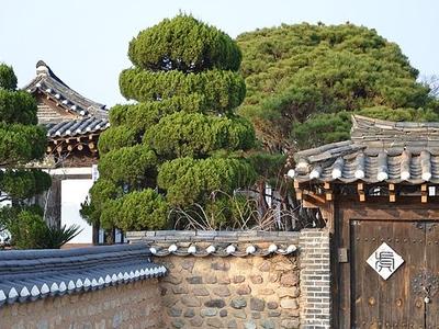 House In Hahoe Village  South Korea