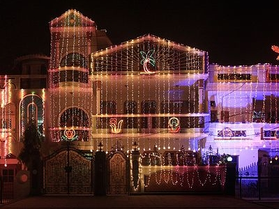 House In Karnal During Diwali