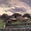Houses Along Huayhuash Circuit Trek In Peru