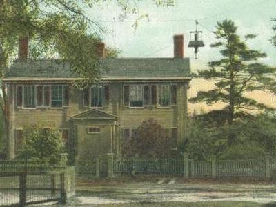 House  Where  Longfellow  Roomed