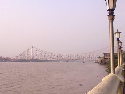 Howrah Bridge From Millennium Park