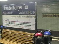 Berlin Brandenburger Tor Station