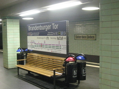 Berlin Brandenburger Tor Station