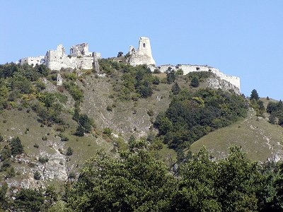 Castle View From West