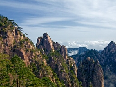 Huangshan Mountain Range