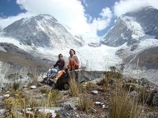 Huascarán Norte Y Huascarán Sur - Cordillera Blanca - Peru
