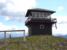 Huckleberry Fire Lookout - Glacier - USA