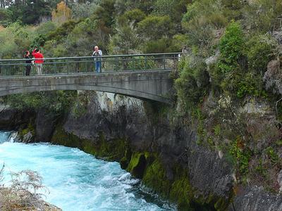 Huka Falls Walkway - Tongariro