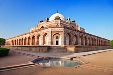 Humayun's Mausoleum At New Delhi