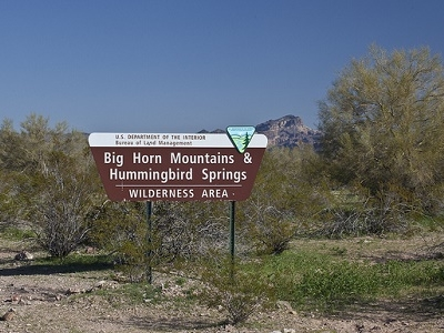 Hummingbird Springs & Big Horn Mountains Wilderness Area