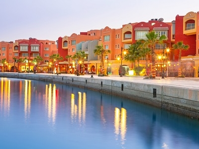 Hurghada Marina In Egypt