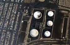 Hurricane Katrina Chalmette Oil Spill Arial
