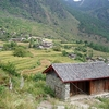 Hutiaoxia By Tiger Leaping Gorge In Yunnan