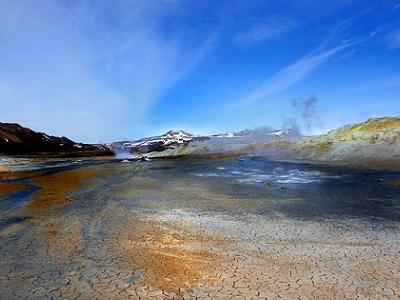 Hverir Geothermal Landscape - Northeast Iceland