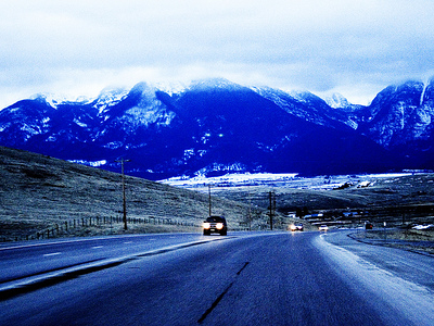 Hwy 93 - Montana Mission Mountains