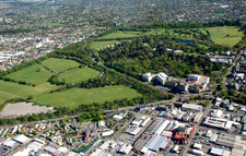 Hagley Park Aerial Photo