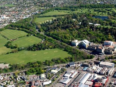 Hagley Park Aerial Photo
