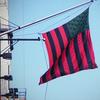 David Hammons' African American Flag