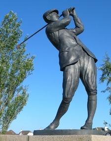 Harry Vardon Statue Grouville
