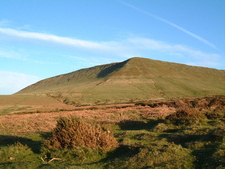 Hay Bluff Viewed From The North