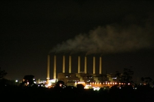 Hazelwood Power Station At Night