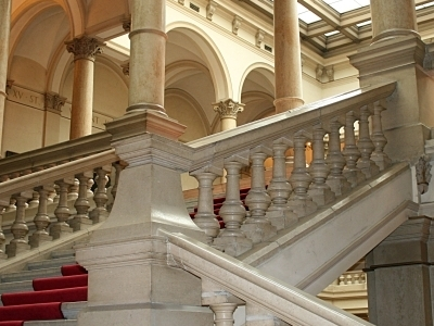 Interior Of The Academy Palace