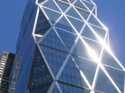 A Closeup Of Building's Facade