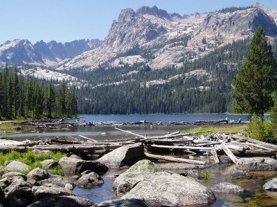 View Of Hell Roaring Lake