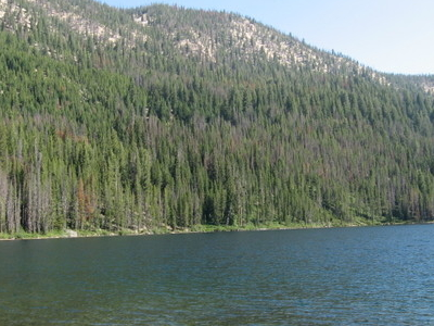 Another View Of Hell Roaring Lake