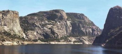 Hetch Hetchy Valley From The Vantage Point