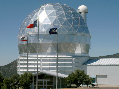 Dome Of 9.2 M Hobby-Eberly Telescope