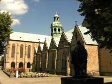Hildesheim Cathedral View From The Northwest