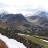 Fells Of Hindscarth And Robinson At The Newlands Valley