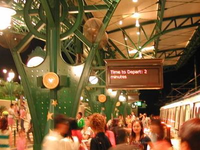 Platform Of The Station