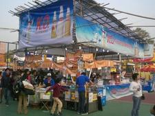 New Year Fair At Fa Hui Park.