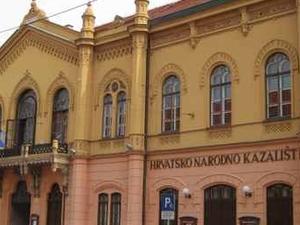 Teatro Nacional Croata en Osijek