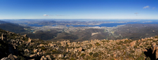 Greater Hobart Area From Mount Wellington