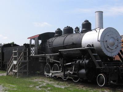 Woodward Iron Company No. 38 Steam Locomotive