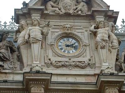 Horloge  Bourse  Lyon