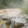 Hot Pool Next To Raging Meager Creek
