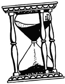 Hourglass Drawing