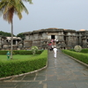 Hoysaleshwara Temple In Monsoon