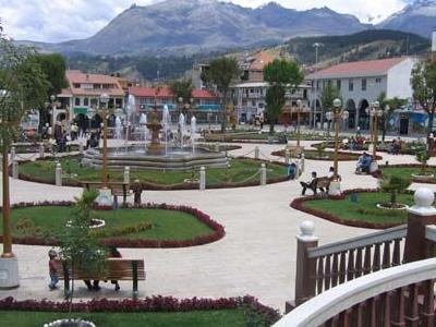 Plaza De Armas Of Huaraz