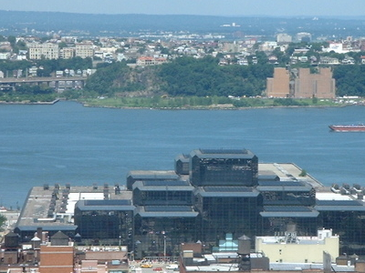 Jacob K. Javits Convention Center From A Distance