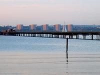 Hythe Pier tren y ferry