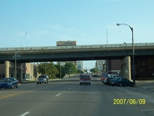 Viaduct In Downtown Topeka