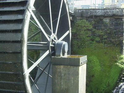 The Historic Mill-Wheel