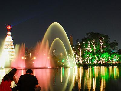 Ibirapuera Park At Night
