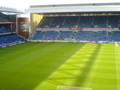 Ibrox Stadium Inside